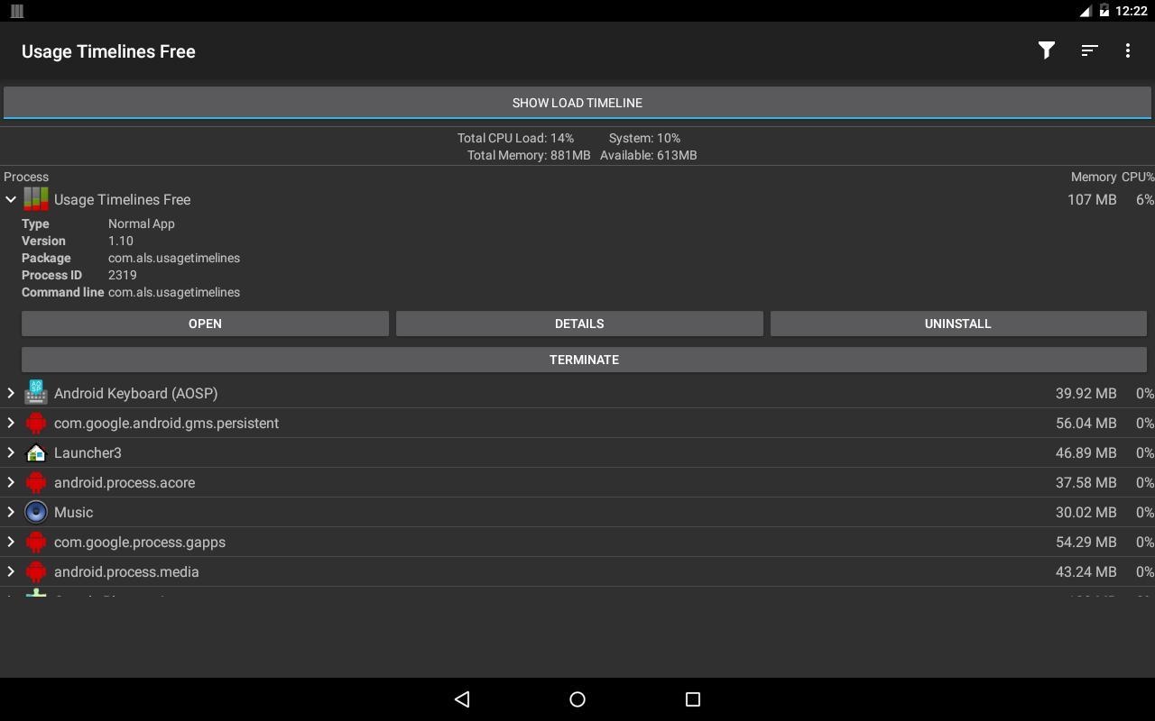 usage timelines free apk-download - kostenlos tools app für android