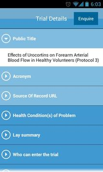 UK Clinical Trials Gateway screenshot 4