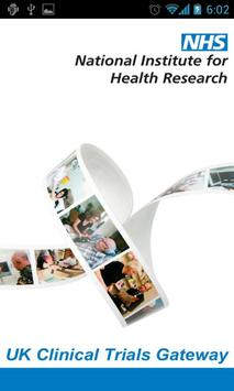 UK Clinical Trials Gateway poster