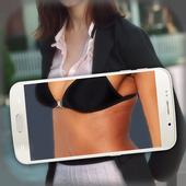 Girl Body Scanner Prank icon