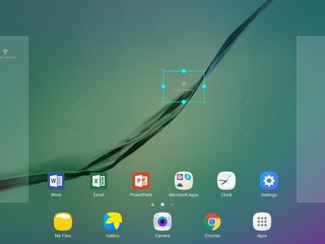 Material WiFi Widget apk screenshot