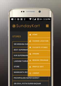 SundayKart apk screenshot