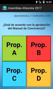 Asamblea Altavista 2017 poster