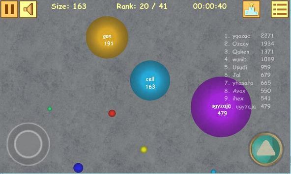 Cell.io screenshot 2