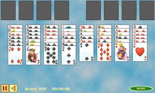 Free Cell Solitaire apk screenshot