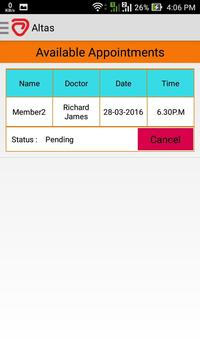 Altas Appointment screenshot 4