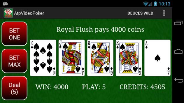 Atp Video Poker Free poster