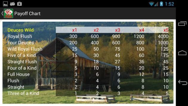Atp Video Poker Free apk screenshot