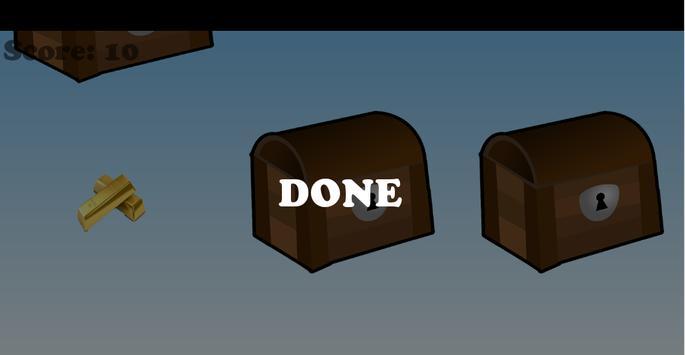 Gold Bar in Chest Game apk screenshot