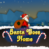 Santa Goes Home icon