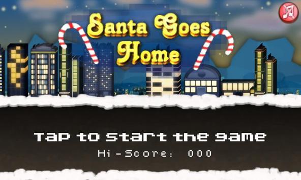 Santa Goes Home poster