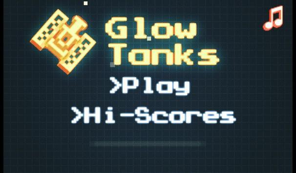 Glow Tanks Nato poster