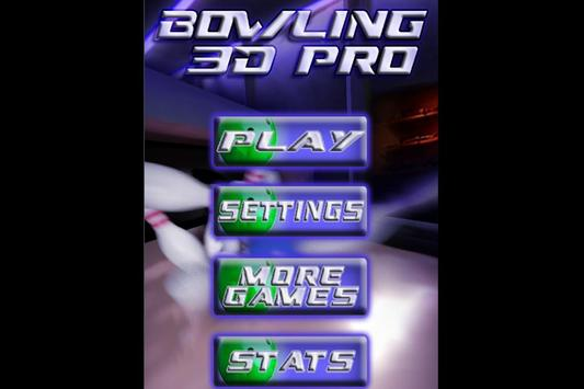The Super Bowling Game - 3D Game Bowling Free 🎳 poster