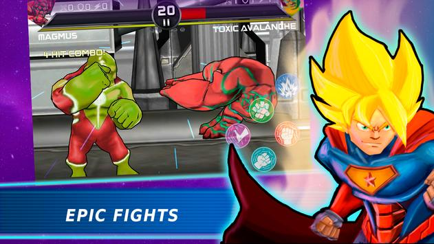 Superheroes Vs Villains 3 - Free Fighting Game poster