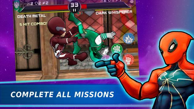 Superheroes Vs Villains 3 - Free Fighting Game screenshot 13