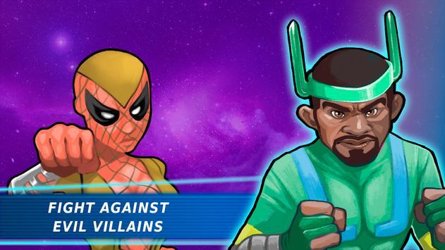 Superheroes Vs Villains 3 - Free Fighting Game screenshot 5