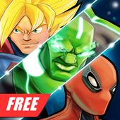 Superheroes Fighting Games Shadow Battle icon