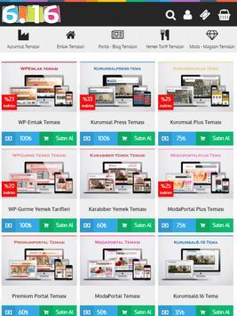 Wordpress Temam apk screenshot