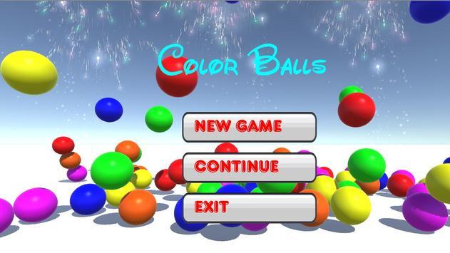 Color Balls poster