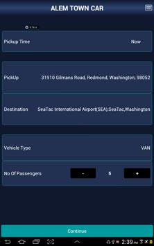Alem Town Car Service screenshot 7
