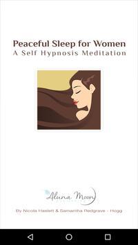 Peaceful Sleep Hypnosis poster