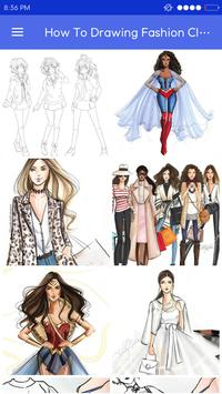 How To Drawing Fashion Clothes apk screenshot