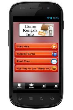 Home Rentals Info poster
