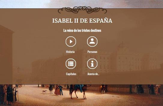 Historia de España - Isabel II poster