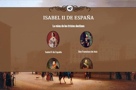 Historia de España - Isabel II apk screenshot