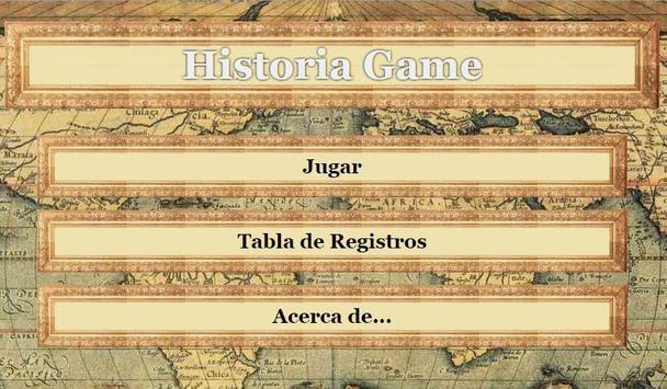 Historia Game poster