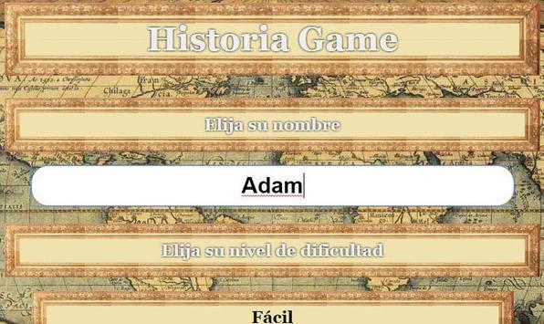 Historia Game apk screenshot