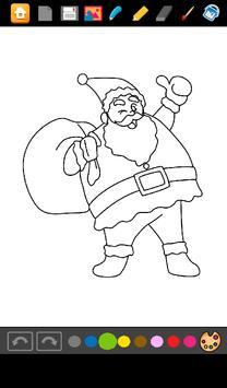 Coloring Games Santa Claus Apk Screenshot