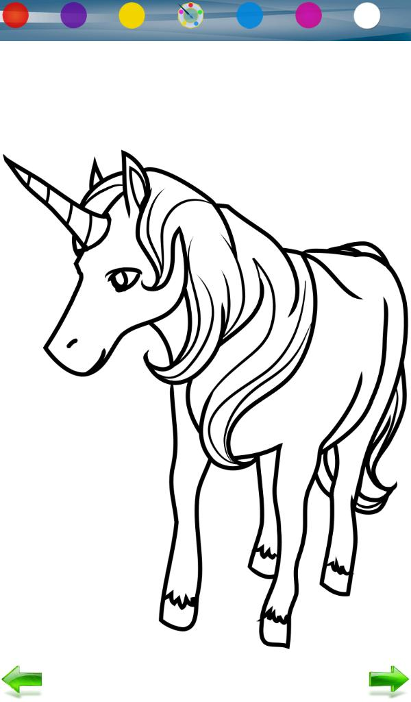 Unicorn Coloring Game for Android - APK Download