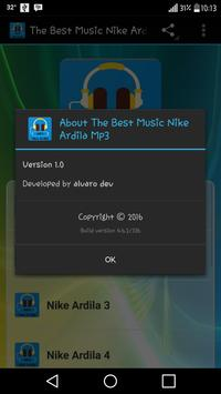 The Best Music Nike Ardila Mp3 apk screenshot