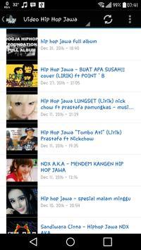 Mp3 Hip Hop Jawa 2017 captura de pantalla de la apk