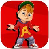 Alvin HD chipmunks Wallpaper icon