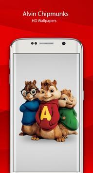 Alvin HD chipmunks Wallpaper screenshot 3