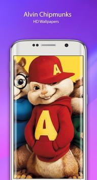 Alvin HD chipmunks Wallpaper poster