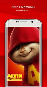 Alvin HD chipmunks Wallpaper screenshot 1