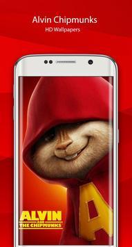 Alvin HD chipmunks Wallpaper screenshot 1