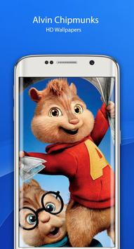 Alvin HD chipmunks Wallpaper screenshot 2
