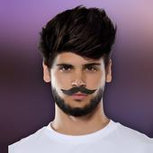 Man Hair Mustache Photo Editor icon