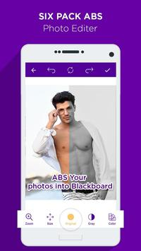 Six Pack Abs Photo Editor apk screenshot