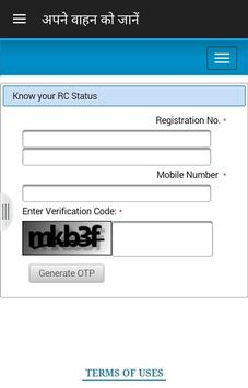 RTO Vehicle & License Info screenshot 6