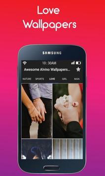 Awesome Alvino free Wallpapers HD : Love Wallpaper screenshot 3