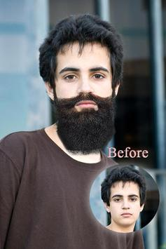 Men Hair Beard Photo Changer poster