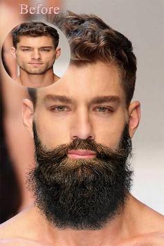 Men Hair Beard Photo Changer screenshot 1