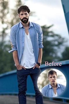 Men Hair Beard Photo Changer screenshot 2