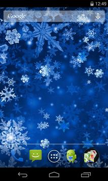 Snowflakes Live Wallpaper screenshot 1