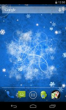 Snowflakes Live Wallpaper screenshot 2